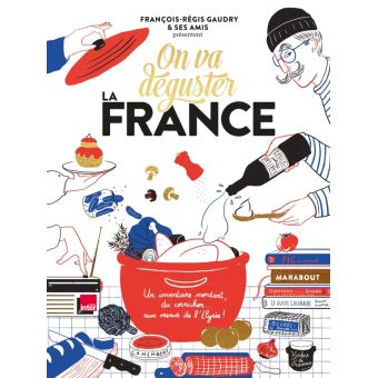 """フランス料理の聖書 """"On va déguster FRANCE"""""""